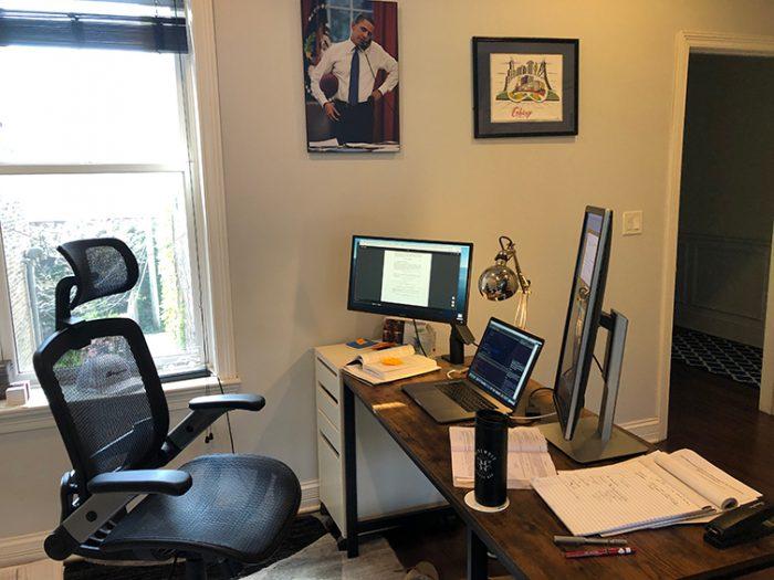 Frank Fineis Home Workspace