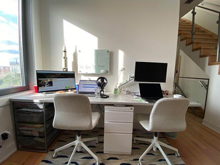 Anando Naqui Home Workspace